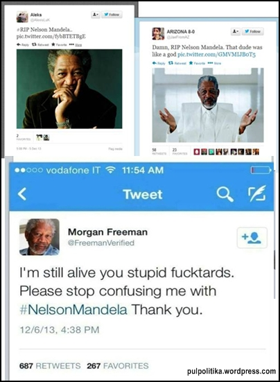 morgan freeman nelson mandela look alike pulpolitika